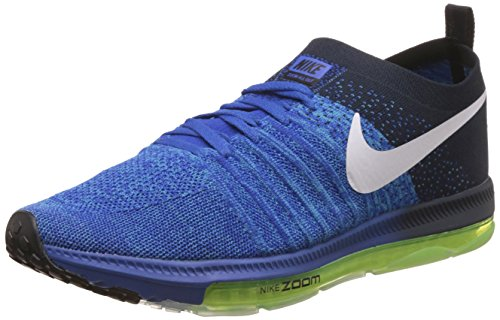 7. Nike Men's Zoom All Out Low Blue Running Shoes