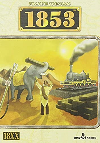 1853 India by Mayfair Games (English Manual)
