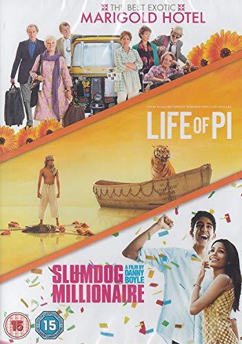 Best Exotic Marigold Hotel / Life Of Pi / Slumdog Millionaire [Edizione: Regno Unito] [DVD]