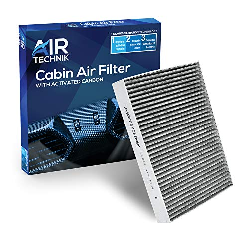 AirTechnik CF11854 Cabin Air Filter w/Activated Carbon | Fits Nissan Qashqai 2017-2019, Rogue 2014-2019, Rogue Sport 2017-2019