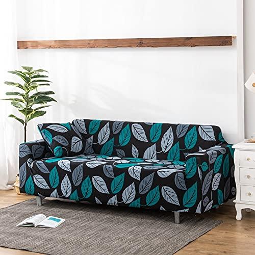 WXQY Funda de sofá elástica para Sala de Estar Funda de sofá Antideslizante con Todo Incluido protección para Mascotas Funda de sofá elástica combinación A9 3 plazas