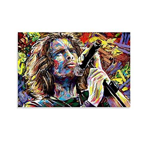 LKJIU Chris Cornell Soundgarden - Póster decorativo para pared (20 x