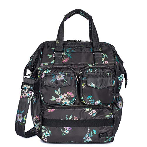 Lug Via 2 Convertible Tote Bag, Bouquet Black