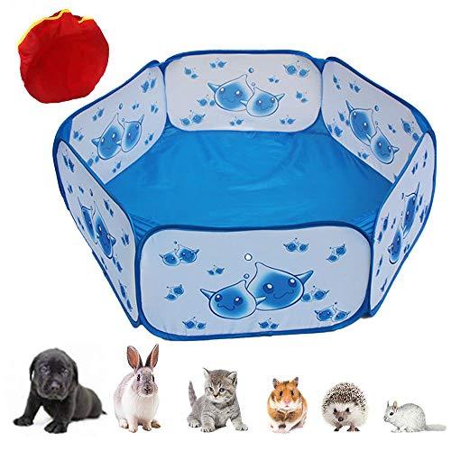 Oncpcare - Piccolo box per animali domestici, penna per criceti, tenda per gabbia per rettili,...