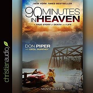 90 Minutes in Heaven audiobook cover art