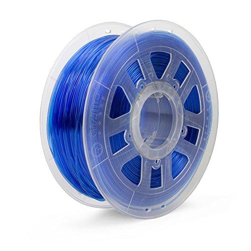 Gizmo Dorks 3mm (2.85mm) PC Polycarbonate Filament 1kg / 2.2lbs for 3D Printers, Blue