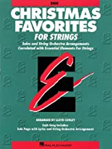 Essential Elements Christmas Favorites for Strings: String Bass (Essential Elements for Strings)