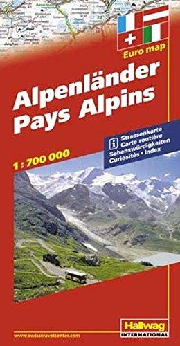 Pays Alpins : 1/700 000