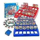 spil Wer ist es Lustiges Ratespiel Brettspiel, Familie Ratespiele Spielzeug, Lustiges Ratespiel Kartenspiel Eltern-Kind-Freizeit-Spielzeug