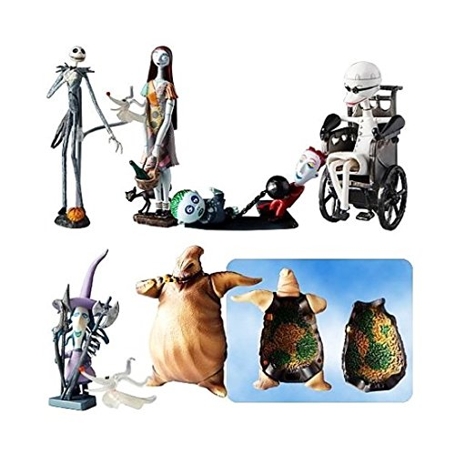 Jun Planning Nightmare Before Christmas Trading Figure Series 1 Set of 6