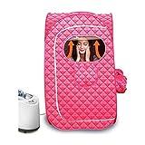 WSJTT Oversize Portable Infrared Home Spa | Two Person Sauna