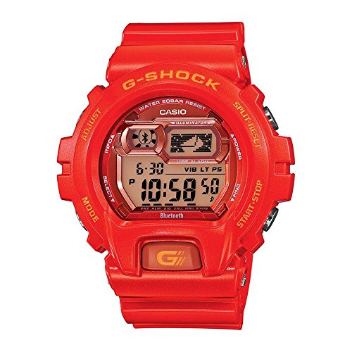 Casio G-Shock GBX-6900 Bluetooth Edition Men's Stylish Watch - Jelly Orange / One Size
