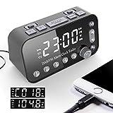 Best dab radio alarm clock - JUNword Dual USB Port Digital Alarm Clock DAB Review