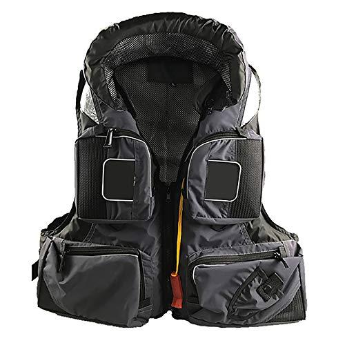 100n natación Chaleco Adulto Ayuda de flotabilidad portátil Salvavidas Chaleco Snorkel Chaleco para bucear Caja Fuerte Pesa Solo 880 g,XL