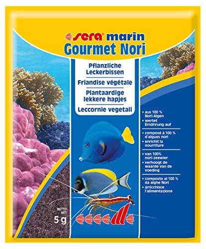 Sera marin, Leccornie vegetali, Alimentazione per pesci, 5 gr.