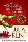 Un milliardaire pour noel sinon rien, tome 5 par Kent