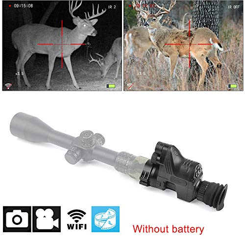 PARD Night VISION 1080p HD WiFi Camera Camcorder Function Night Vision Scope NV007 Digital Night Vision- Including 32G SD Portable Day&Night Mode for Hunting Night Vision,Observation,Multi-functional