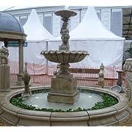3 2m Scallop shell fountain centrepiece