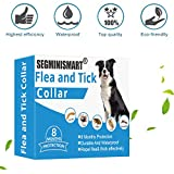 SEGMINISMART Collar Antiparasitos para Perro,Collar para Control de...