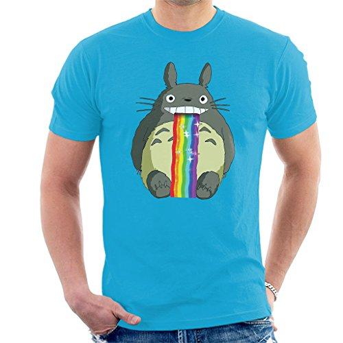 Studio Ghibli Totoro Puking Rainbow Snapchat Filter Men's T-Shirt