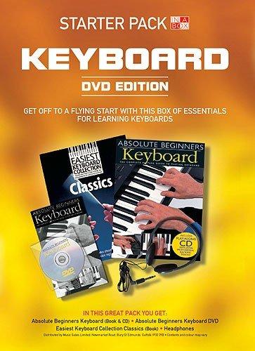 In A Box Starter Pack Keyboard (DVD Edition) (.): Lehrmaterial, DVD (Video), Zubehör für Keyboard
