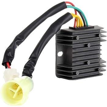 Voltage Regulator Rectifier for Honda TRX 300 Fourtrax TRX300 FW 2x4 4x4 1993 1994 1995 1996 1997 1998 1999 2000 31600-HC5-970 31600-HM5-630