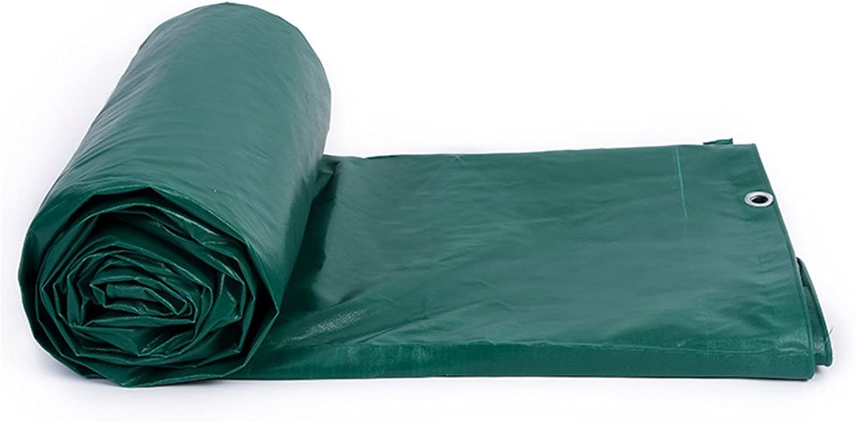 Hyzb Markisen-Plane-Schuppen-Stoff-Sonnenschutz-Regenschutz-Stoff verdickte PVC-Sonnenschutz-Regen und windundurchlssige Anti-Tuchplane DREI (gre   5x7m)