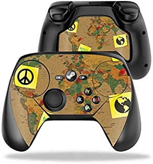 MightySkins Skin Compatible with Valve Steam Controller case wrap Cover Sticker Skins World Peace