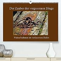 Der Zauber der vergessenen Dinge (Premium, hochwertiger DIN A2 Wandkalender 2022, Kunstdruck in Hochglanz): Nahaufnahmen aus einem verlassenen Hafen (Monatskalender, 14 Seiten )