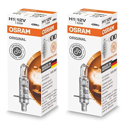 2 ampoules halogènes H1 P14.5s OSRAM 64150 Classic