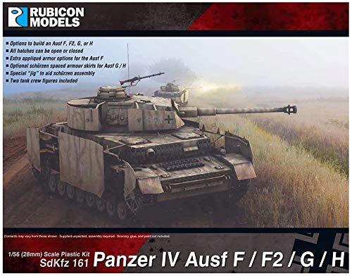 ルビコンモデル 1/56 ドイツ軍 4号戦車 F/F1/G/H型 プラモデル RB0077