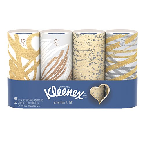 Kleenex Perfect Fit Facial Tissue - 4pk/50ct
