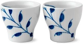 Royal Copenhagen Blue Fluted Mega Egg Cup 2-Pack