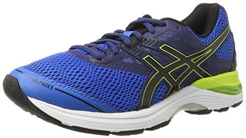 Asics Gel-Pulse 9, Zapatillas de Running para Hombre, Azul (Directoire Blue/Black/Indigo Blue), 44.5 EU