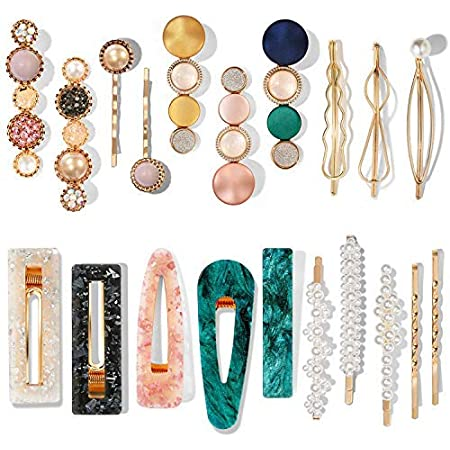 Hairpin Bobby Barrette Women Hair Clip Stick Acrylic Accessories Snap Gift
