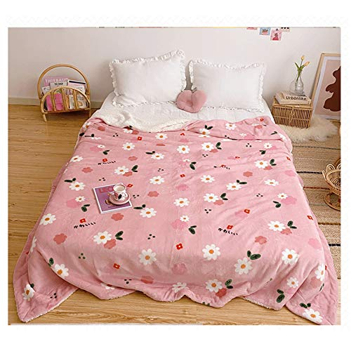 DALIBAI Niños All Temporada Manta Fleece Manta Fleece Twin Fleece Mantas Super Soft Touch Snug Manta Cálida Lanzamiento Ligero para Cama Hogar (200x230cm)