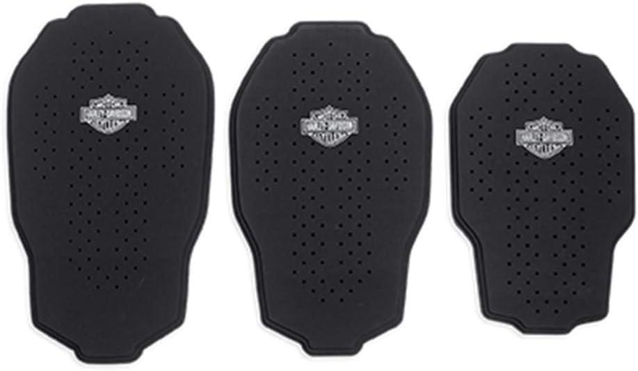 Harley Davidson Tri Layer Back Body Armor Back Protector 98375 15vr S Black Auto