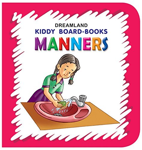 Kiddy Board Book - Manners (English Edition)