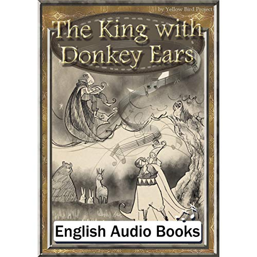 『The King with Donkey Ears(王様の耳はロバの耳・英語版)』のカバーアート