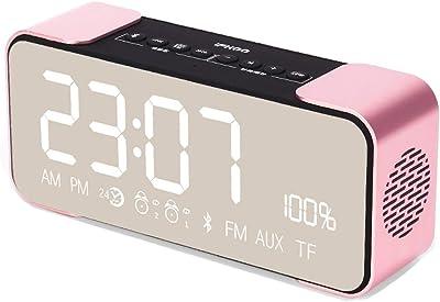 Reloj electrónico Reloj Despertador Creativo Estudiante Mute Reloj electrónico Reloj electrónico Multifuncional Junto a la Cama