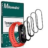 Milomdoi [4 Pièces] Protection écran pour Xiaomi Mi Band 5, Film Souple Ultra HD TPU [sans Bulles]...