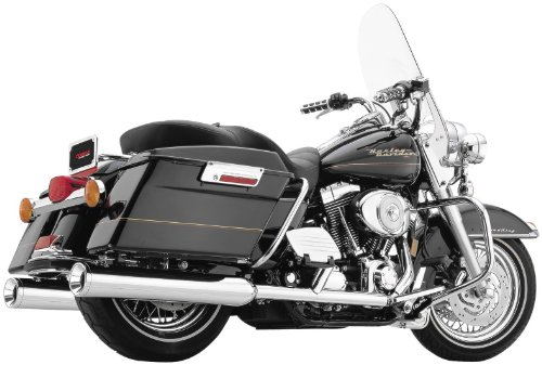 Cobra Auspuffanlagen True Dual Header System Harley Davidson Touring FL 95-06