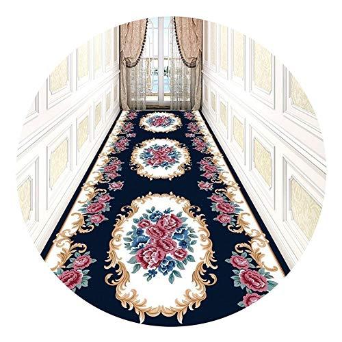 GHHZZQ - Tappeti Guida Corridoio Runner 3D di Spessore 0,6 cm Fibra Superfine Scala Foyer, 2 Colori, 36 Taglie, Personalizzabile (Color : B, Size : 0.
