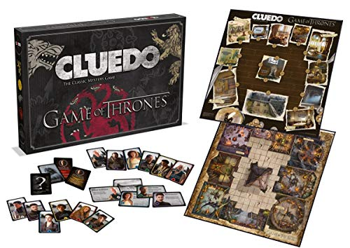 Cluedo Game of Thrones - Bordspel - Cluedo geheel in stijl van Game of Thrones. - Voor de hele familie - Taal: Engels