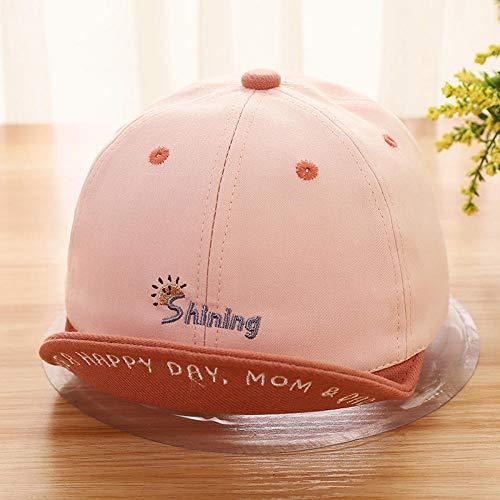 MIBQM Unisex Brief Stickerei Baby Baseball Caps Sonnenhut Atmungsaktive Kinder Kinder...
