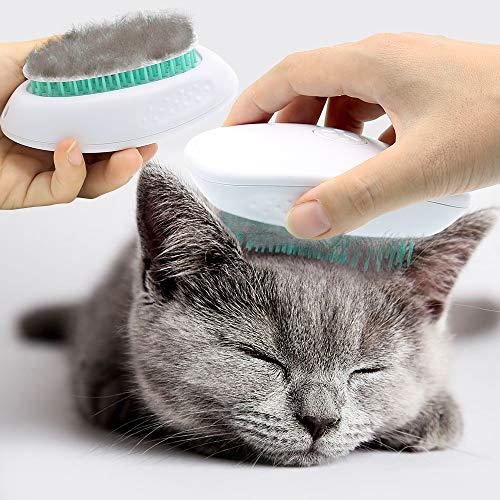 Dog Brush Pet Hair Remover - Professional Cat Brush Dog Grooming Shedding Brush Pet Self Cleaning...