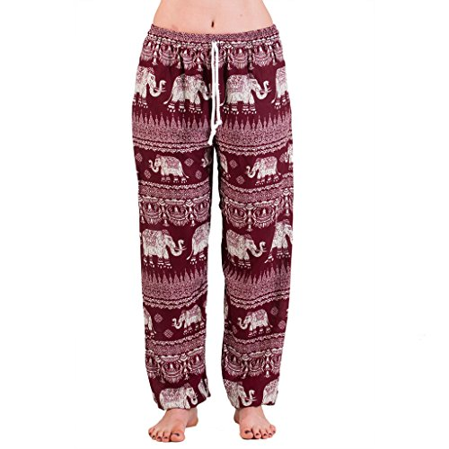 PANASIAM muck Pants, Elefant 01 boreaux red