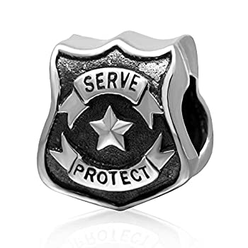 Flight Charms 925 Sterling Silver I Love Travel Charms for Pandora Bracelets Birthday Christmas Gifts for Women  Police Station Charm