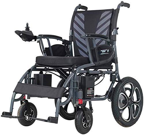 Elektro Rollstuhl Klapprollstuhl Elektrisch, Tragbare Reise Rollstuhl Folding - Elektro-Rollstuhl Mobilitätshilfe 6mph FDH