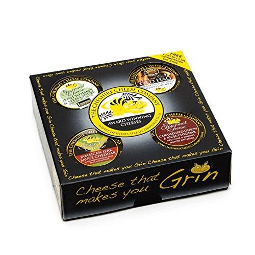 4 Gourmet Kaese - gewachst Geschenk set